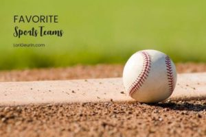 Do you have a favorite team or sport you like to watch and cheer for? I've been a Kansas City Royals fan since I was a girl.