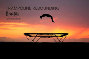 Do you like jumping on a trampoline? Check out these health benefits of rebounding on a mini trampoline, including detox and stronger bones.