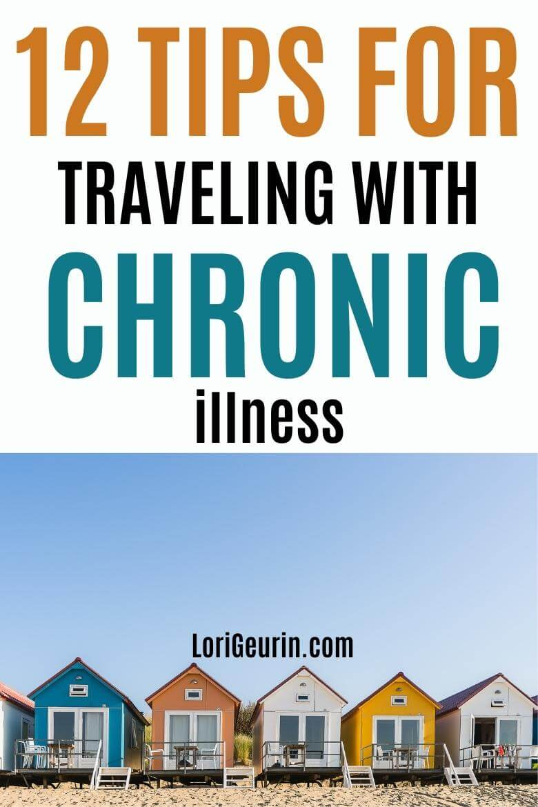 traveling with chronic illness / beach houses