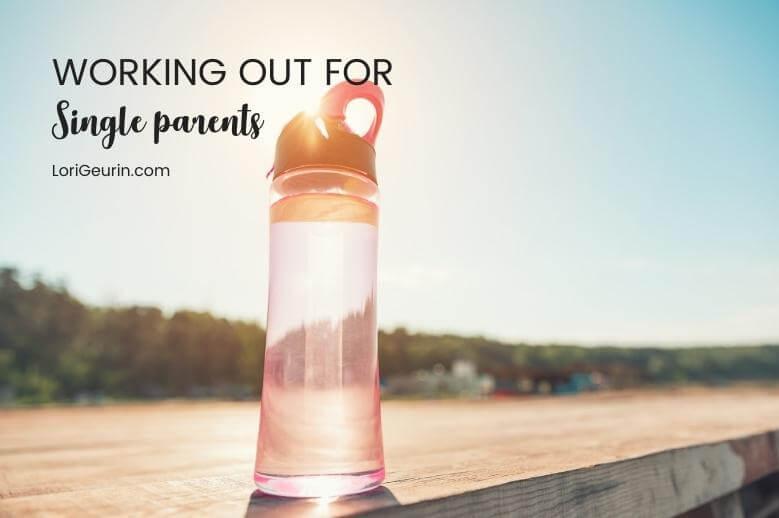 a water bottle in sunshine