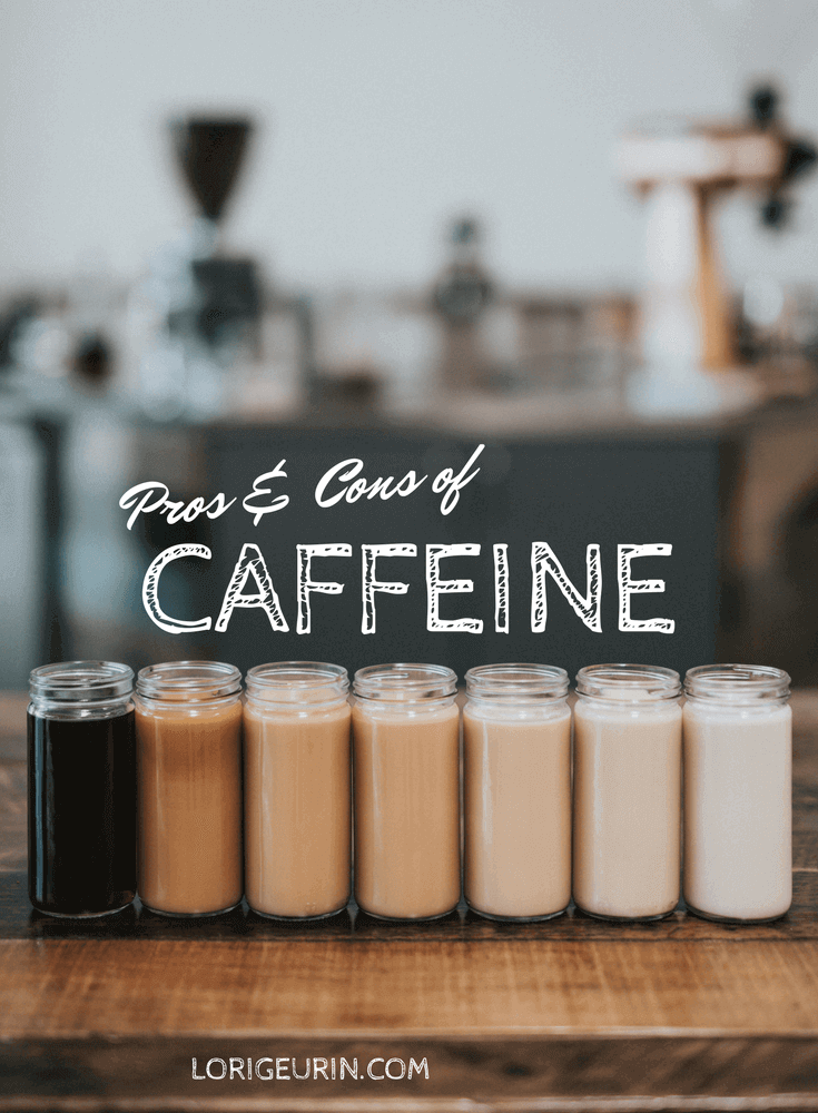 effects of caffeine and glass bottles of coffee drinks