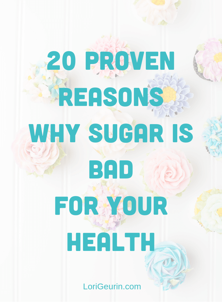 There are many reasons why refined sugar is bad for your health. Learn how sugar causes disease, inflammation & chronic health problems.