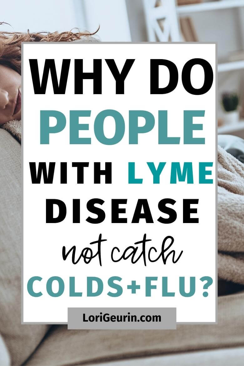 people with lyme disease / sick person on a couch
