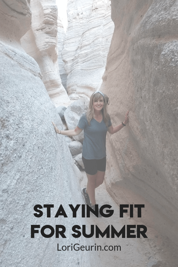 How do you stay fit for summer? In this post I share summer fitness tips and strategies to help you meet your fitness goals.