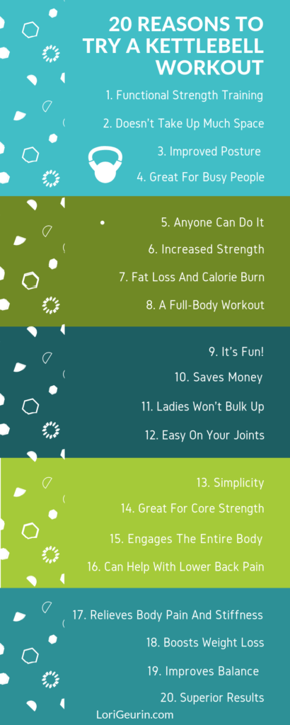 You can get an amazing whole-body workout with a single kettlebell. Learn 20 compelling reasons you should train with a kettlebell.