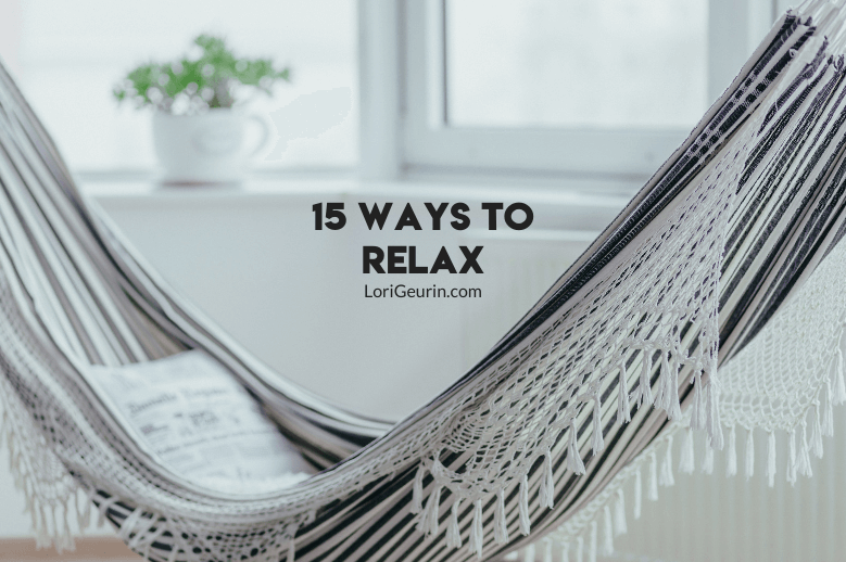 In this article I'll share my favorite ways to relax and unwind. Learning relaxation strategies will give you healthy ways to relieve stress.
