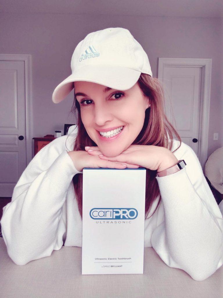 Lori Geurin Wellness For Life blog cariPro toothbrush giveaway