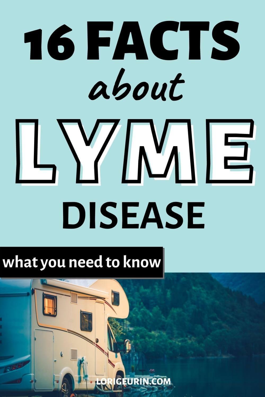lyme disease / camper outside
