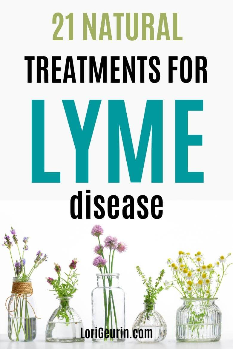 lyme disease natural treatment / herbs and flower