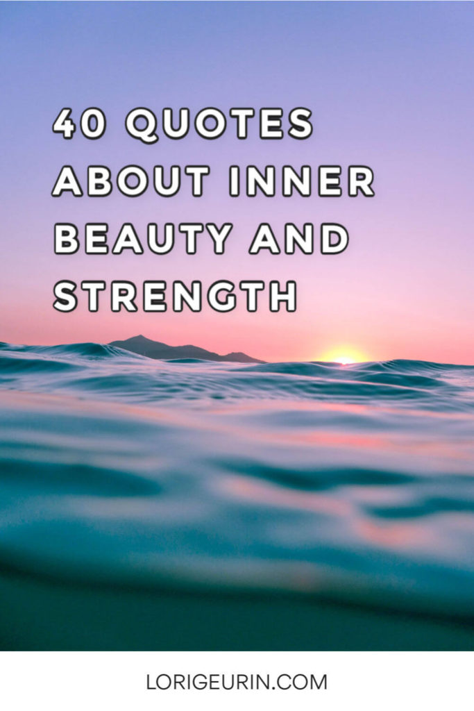 What does beauty mean to you? Explore these 40 inspirational quotes about inner beauty that will help you reconnect with yours.
