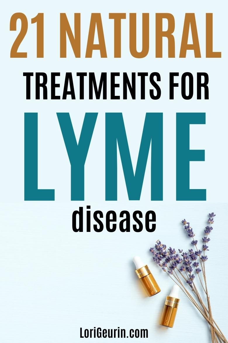 natural treatments for lyme disease / essential oils and lavender