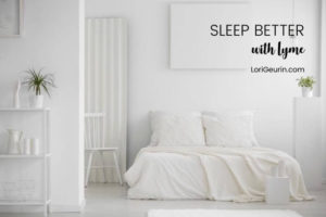 Having trouble sleeping with Lyme disease? Here are 6 holistic strategies that can help you sleep better & recover from Lyme or chronic pain.