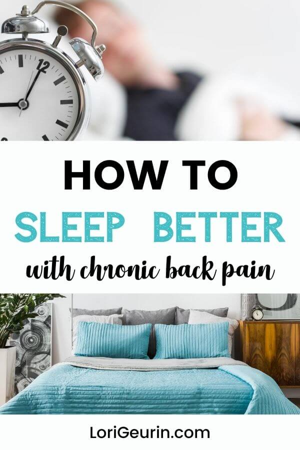 This article will show you how to sleep better with chronic back pain. Learn natural strategies to help you fall asleep with chronic pain.