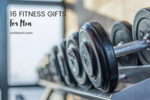 fitness gifts for guys - weights on a weight shelf