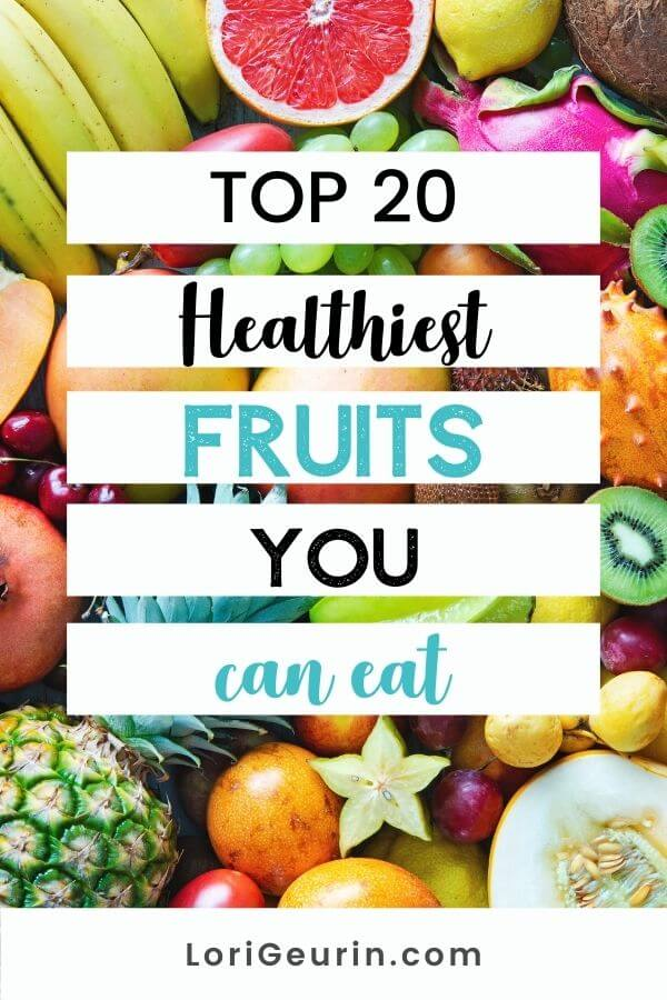 some of the healthiest fruits including kiwi, apples, bananas, star fruit, lemons, grapes, pineapples, and grapefruit