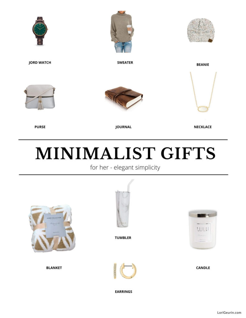 gift ideas for the minimalist