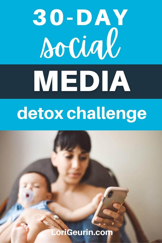 social media detox challenge