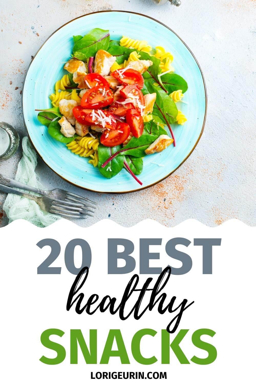 best healthy snacks / salad