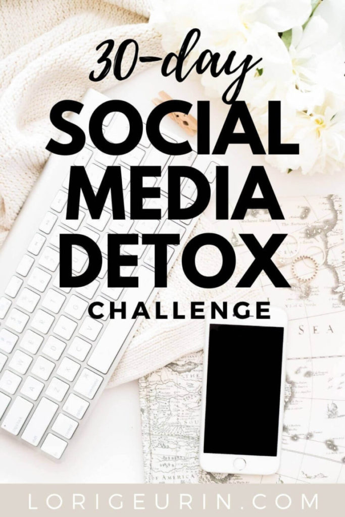 social media detox challenge / a computer keyboard, jewelry , and a cellphone