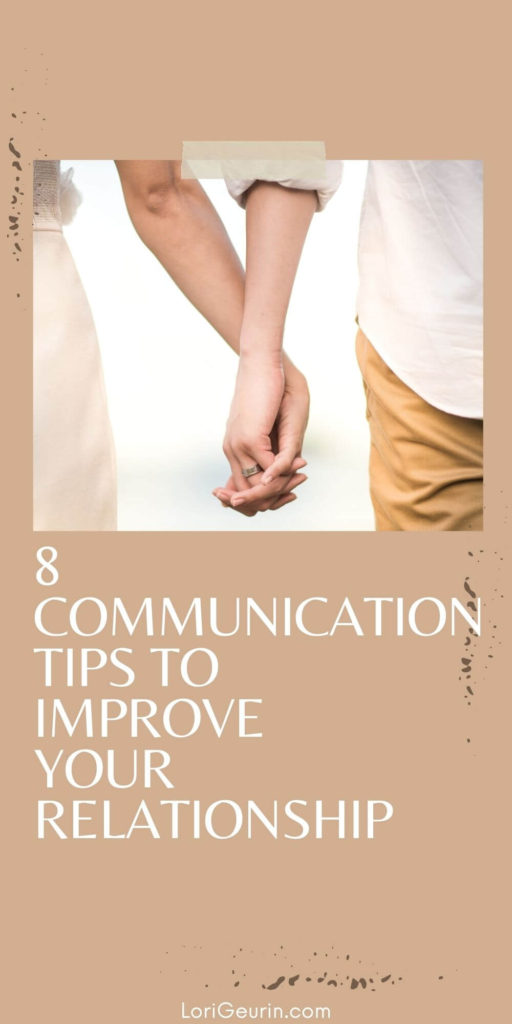 ways to improve communication skills /  a couple holding hands outside