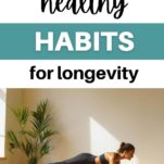 how to live longer / woman doing planks