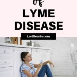 woman sick with lyme disease