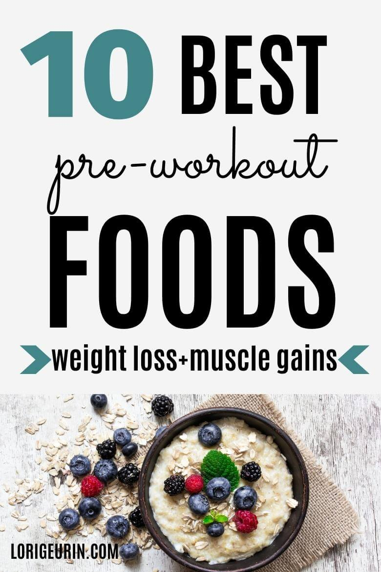 pre workout foods / oatmeal