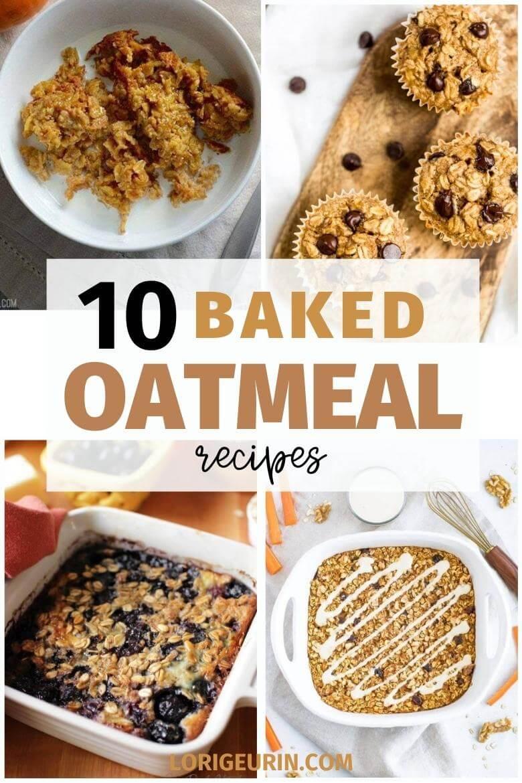 10 baked oatmeal recipes