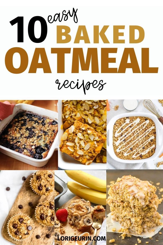 baked oats recipes