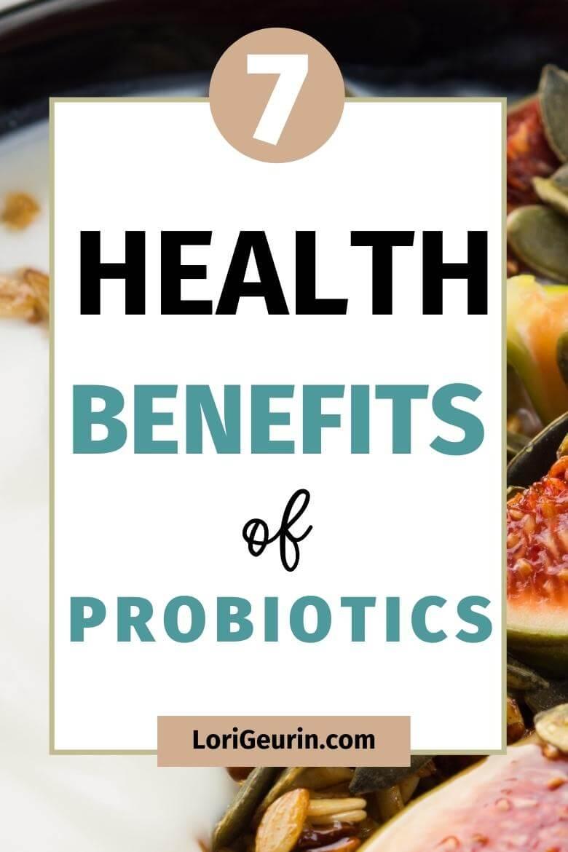 reasons to take probiotics / yogurt with fruit