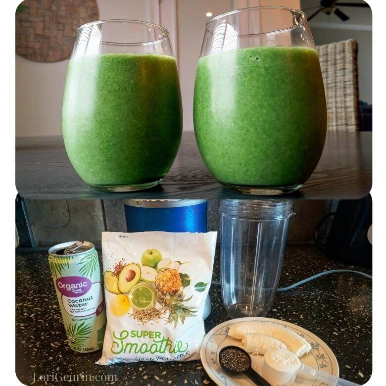 green smoothie pre workout foods
