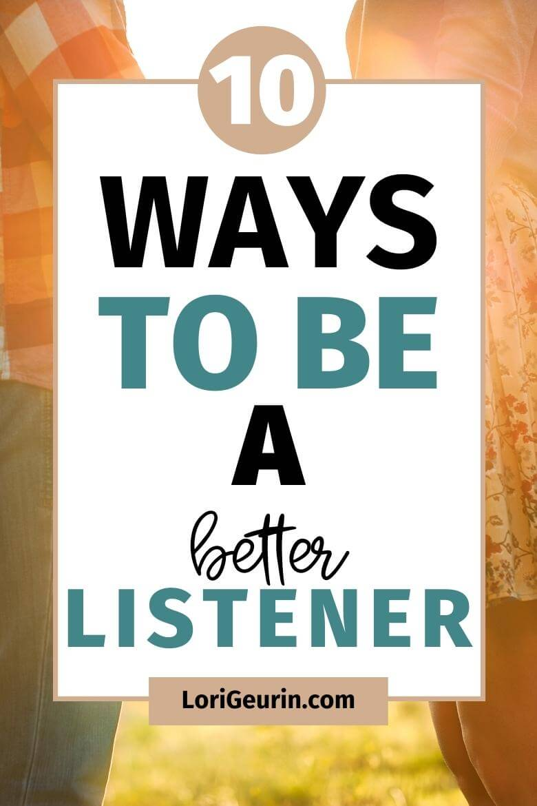 how to be a better listener / couple holding hands