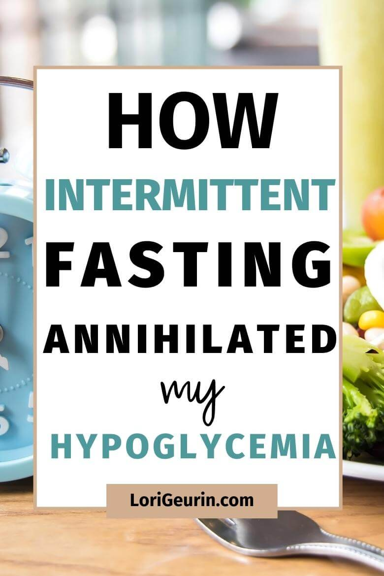 intermittent fasting for reactive hypoglycemia