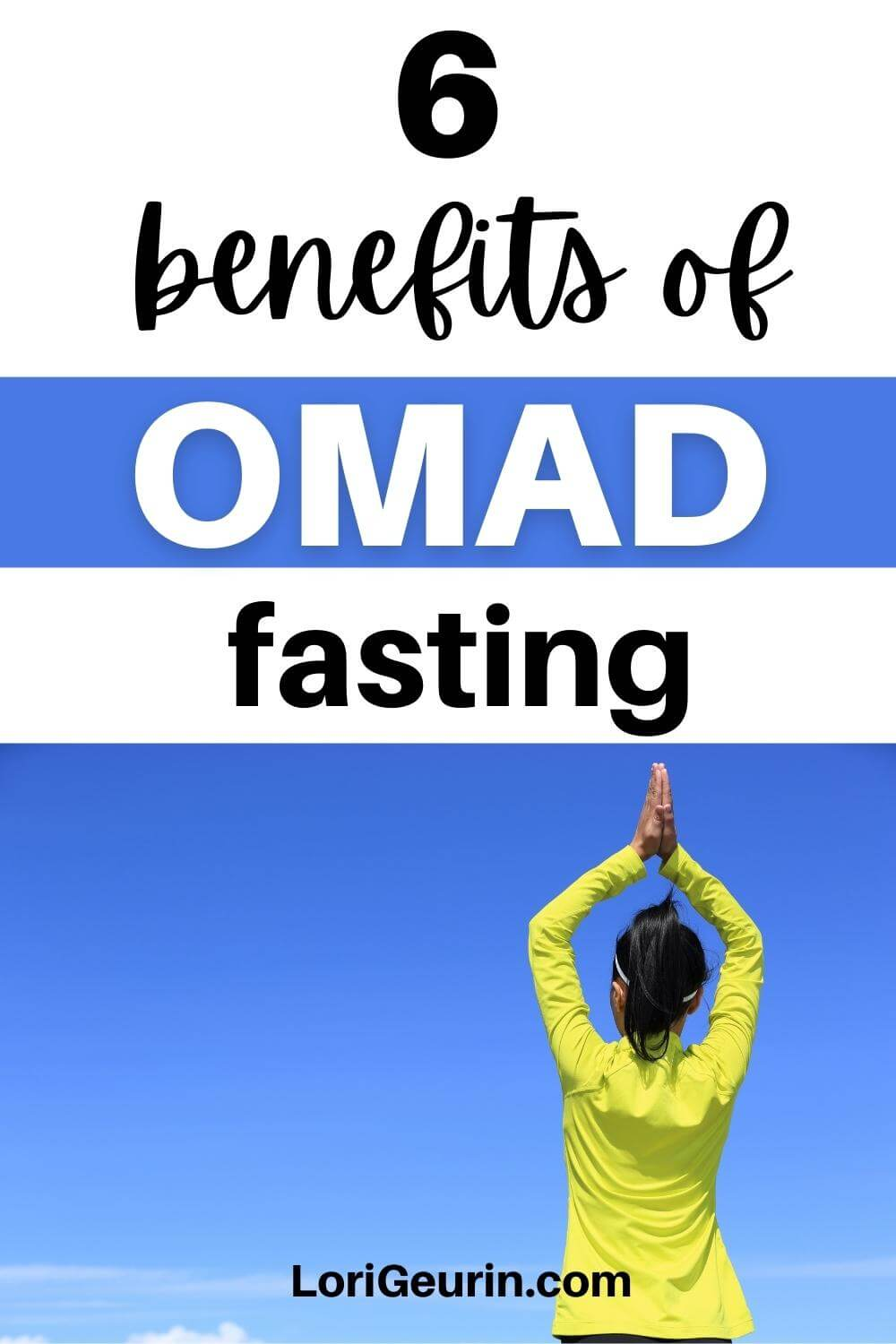 benefits of omad fasting / woman doing yoga