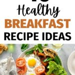 healthy breakfast ideas / eggs and tomatoes