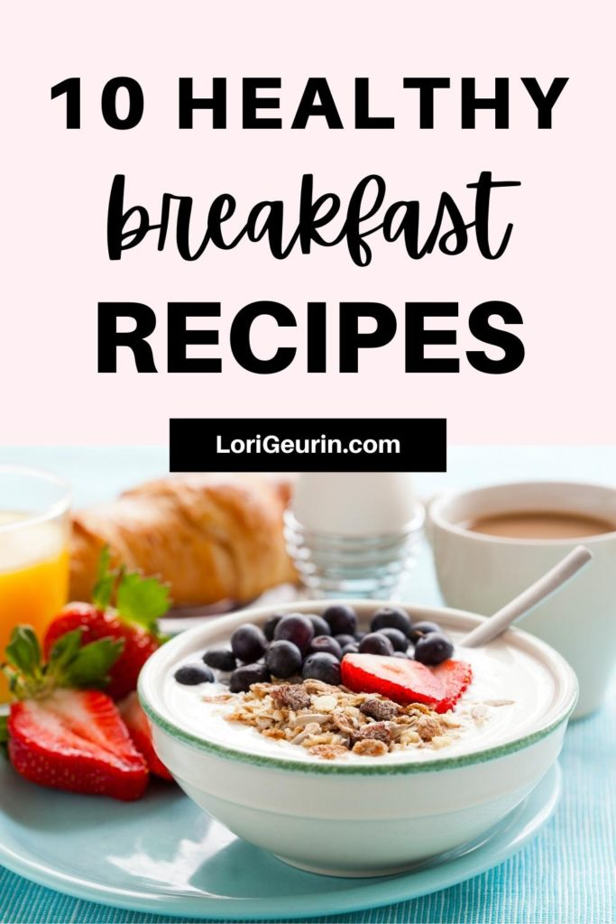 yogurt and fruit / healthy breakfast ideas