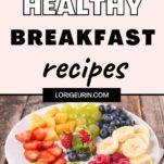 healthy breakfast / fruit salad