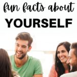 friends sharing fun facts