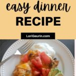 quick and easy dinner recipe