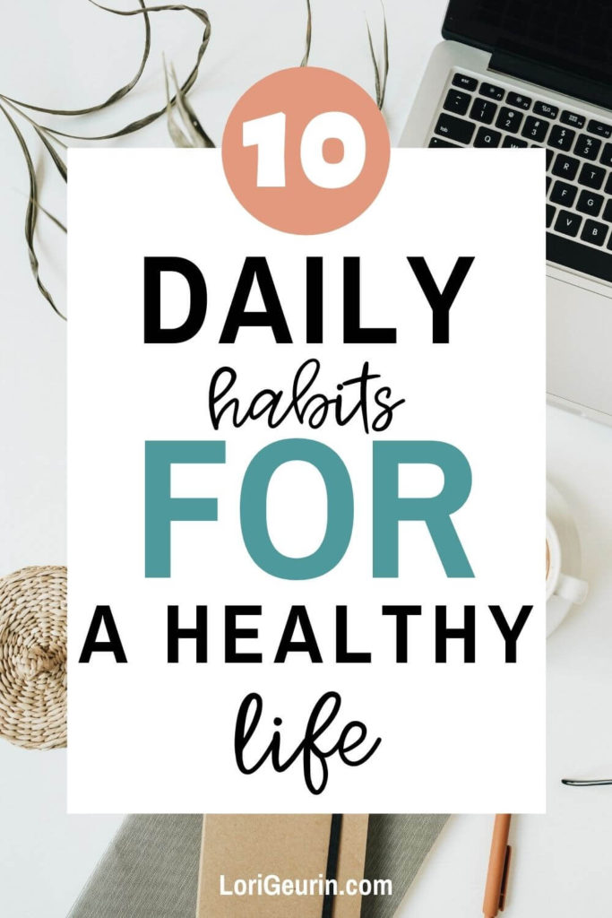 healthy habits to start