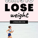 weight loss tips / woman running