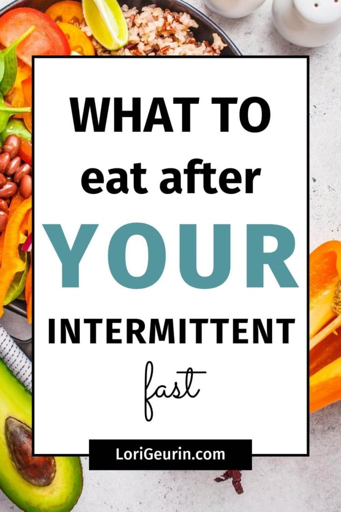 what to eat after a fast / healthy food